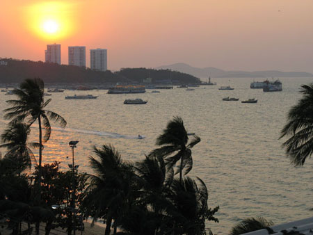 Pattaya Bay Sunset