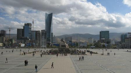 Sukhe Bator Square, Ulaan Baatar
