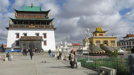 Gandan Khid  Monastery, Ulaan Baatar