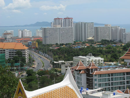 Pattaya continues to boom with many new developments