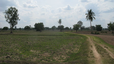 Isaan in the dry season