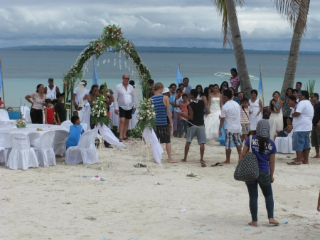 Culmination of the Dating Game - getting married on Bantayan