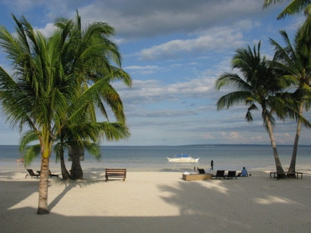 Paradise on earth - Bantayan Island from our shared Verandah