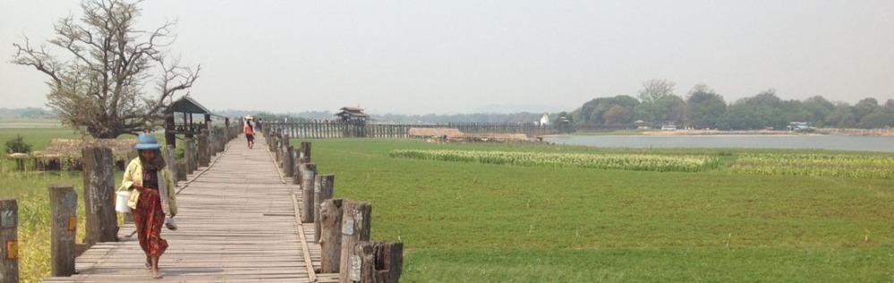 The U Bein Bridge, Amarapura