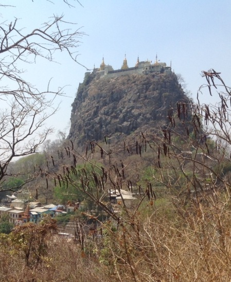 Mt Popa Temple