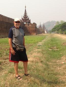 At Mandalay Fort