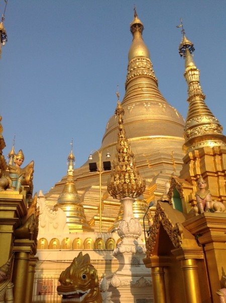 Myanmar - land of ten thousand Golden Stupas. Schwedagon Paya, Yangon