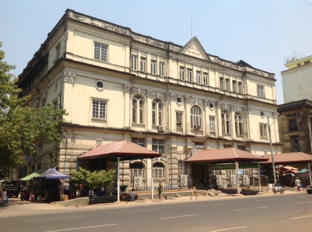 Yangon possesses many impressive buildings from the colonial era.