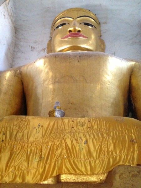 One of 4 Buddhas at Manhua Paya, Bagan