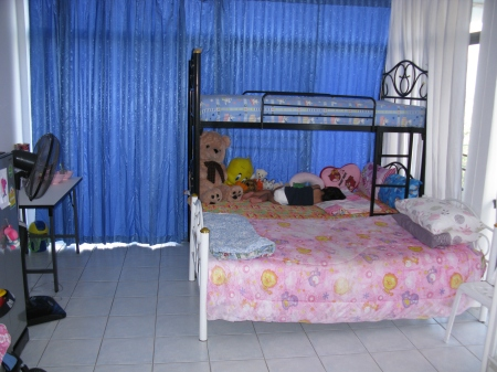 The bedrooms are clean, comfortable and spacious