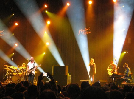 Sting and his backing group Montreux 2013