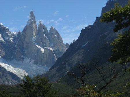 Cerro Torre is one of the most spectacular mountains in South America