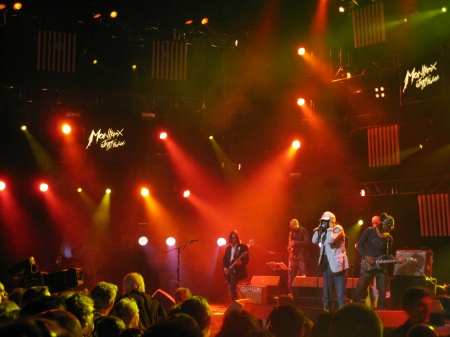 Alpha Blondie set the tone for an evening of Reggae in 2012