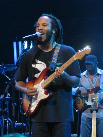 Ziggy Marley lets it rip Montreux 2012