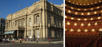 The Colon Theatre is one of the world's great Opera Houses and possesses outstanding acoustics
