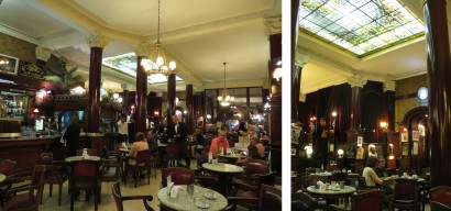 The historic Cafe Tortoni is the most famous of Buenos Aires' many Cafes