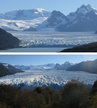 The Perito Moreno Glacier is one of the most spectacular and scenic glaciers in the world