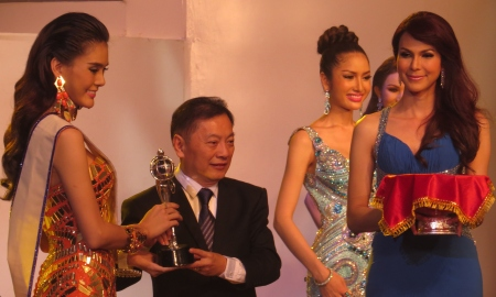 Miss Photogenic Trithipripa Thippaphada progressed to be 3rd placed overall