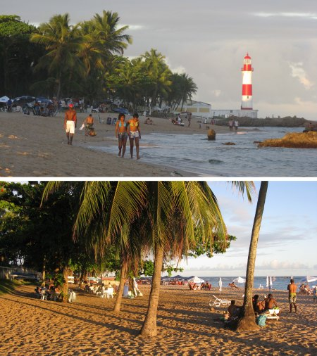 Itapúa, a beach suburb of Salvador, was the base for the writer's last week in Brazil.