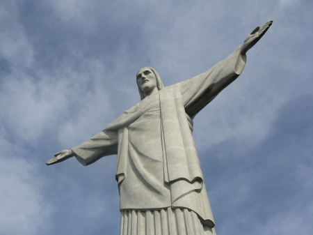 Christ the Redeemer is the iconic image of Rio de Janeiro and the world's largest Art Deco sculpture