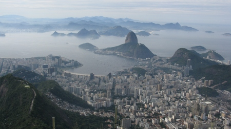 Rio de Janeiro is undoubtedly one of the world's most spectacularly located cities.