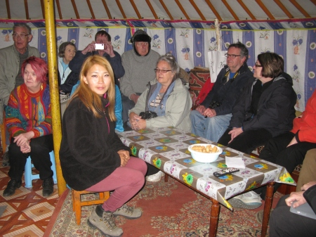…………was also guided by the delectable Gerlee when he visited Mongolia two years ago