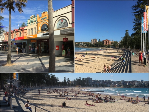 Manly with its Oceanside beach and Harbour access has always been popular with Sydneysiders and there is a frequent 30 minute ferry service from Circular Quay.