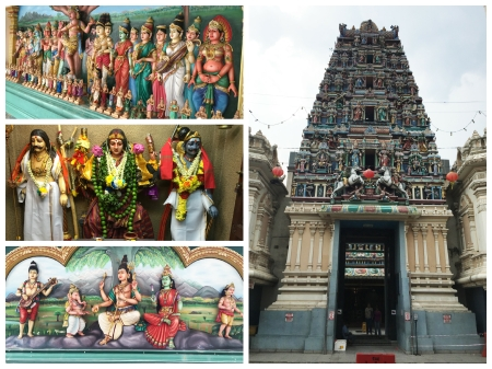 The Sri Maha Mariamman Temple is the oldest Hindu temple in Kula Lumpur.
