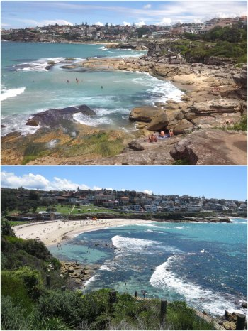 The Coastal Path from Coogee to Bondi provides a never ending series of vistas.