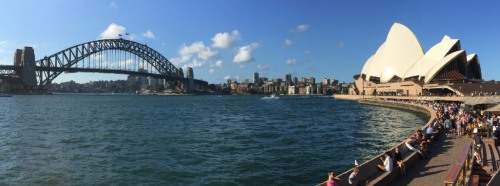 The Opera House and Harbour Bridge dominate most views of Sydney Harbour.