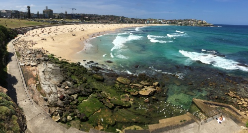 Bondi is one of the most famous beaches in the world and only 5 miles from the centre of Sydney.
