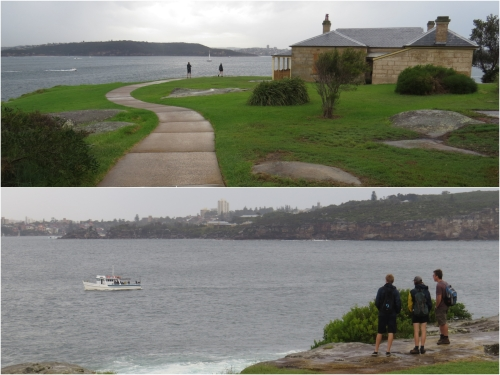 It is a short walk from Watsons Bay to South Head and the mouth of Sydney Harbour.