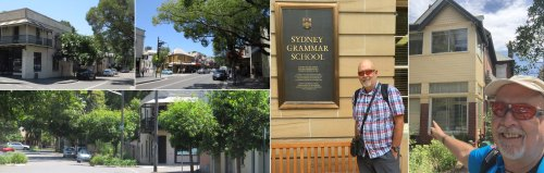 The author visits Sydney Grammar School where he taught for 4 years 1972-76 and his rented rooms in the Glebe, the base for his first business and foundation for everything that followed. Glebe is a vibrant inner city suburb which provides and eclectic mix of ethnic restaurants and interesting shops.