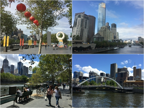 The regenerated inner city area of Southbank was my base for two recent visits to Melbourne and was less than a mile to the Central Business District via the Evan Walker Bridge.