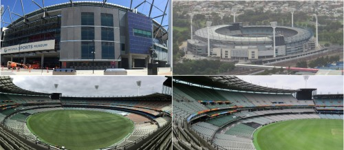 As well as being the world's most famous Cricket Ground the MCG also houses the very impressive Australian National Sports Museum.