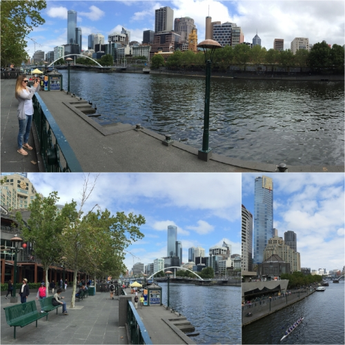 The Yarra affords many riverside walks as it flows through the centre of Melbourne.