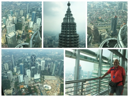 Views from within the Petronas Towers.