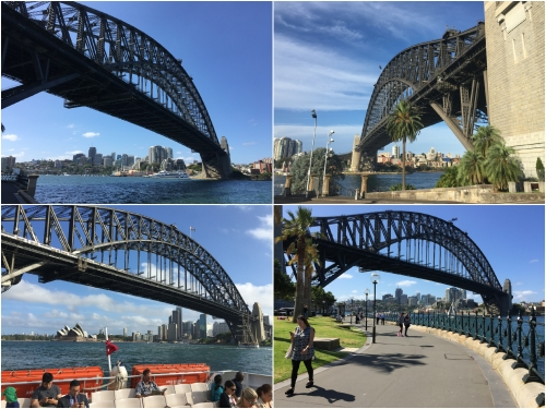 'The Old Coat Hanger' – Sydney Harbour Bridge is one of the world's most famous bridges and affords, magnificent views of the City and Harbour.