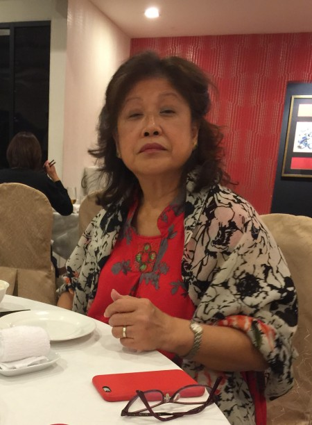 Matriarch of the Clan – Dinner with Miss Chan in KL, March 2015.