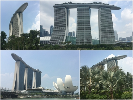 26 The Marina Bay Sands Hotel is one of the world's most distinctive hotels in appearance with a skypark adorning its three towers. It is already the symbol of modern Singapore.