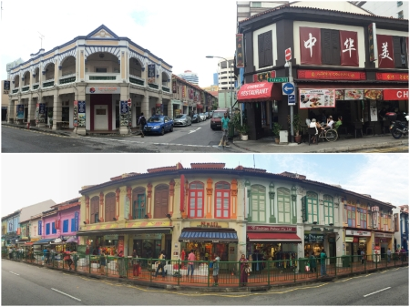 30 Colourful streetscapes and period buildings make Little India a distinctive neighbourhood.