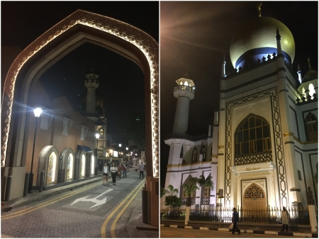 3 The Sultan Mosque was located close to my hotel and is one of Singapore's most recognisable landmarks.