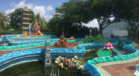 32 Haw Par Villa used to be known as Tiger Balm Gardens and is a throwback to a bygone era.