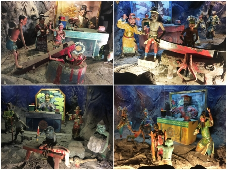 33 The aging Ten Courts of Hell with its gruesome depictions of Hell is still one of the most macabre and popular sections of Haw Par Villa.