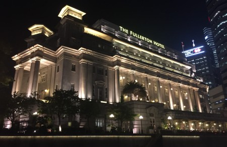 6 The Fullerton Hotel is a wonderful example of colonial architecture.