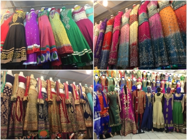A myriad of colours and textiles await within the Tekka Centre!