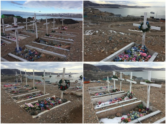 An orderly graveyard reflects an organised and respectful community