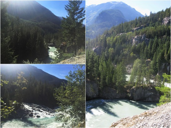 Our plan was to follow the Elaho River to Clendinning Provincial Park.