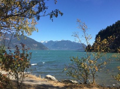 We passed Porteau Cove as we drove north along the Howe Sound