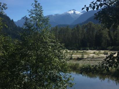 Back beside the Squamish River.